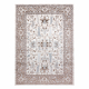 Dywan ARGENT - W7039 Kwiaty beżowy / szary