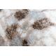 Matta ARGENT - W7039 Blommor beige / grå