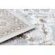 Argent szőnyeg - W7039 Virágok bézs / szürke