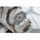 Argent szőnyeg - W7040 Keret, vintage szürke / bézs