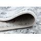 Tapete ARGENT - W7040 Quadro, vintage cinzento / preto