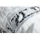 Matta ARGENT - W7040 Ram, vintage grå / svart