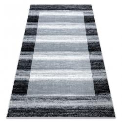 Carpet ARGENT - W9557 Frame, vintage, lines grey