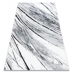 Carpet ARGENT - W9563 Lines white / grey