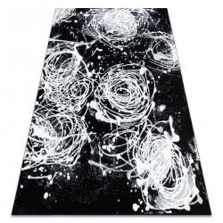 Argent szőnyeg - W9565 абстракция fekete / szürke