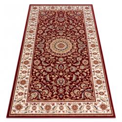 NAIN szőnyeg Rozetta, keret 7176/51066 bordó