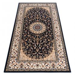 NAIN szőnyeg Rozetta, keret 7177/51011 bézs / fekete