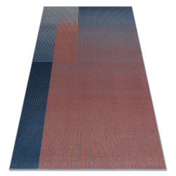NAIN szőnyeg Geometriai 7710/51944 piros / kék