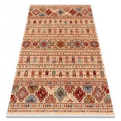 Carpet Wool KESHAN fringe, oriental 7684/53555 beige / terracotta
