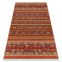 Carpet Wool KESHAN fringe, oriental 7685/53578 terracotta