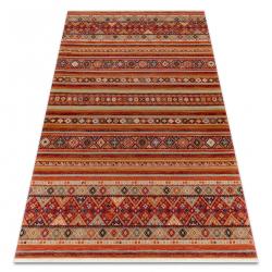 Teppich Wolle KESHAN Franse, orientalisch 7685/53578 terrakotta