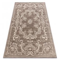 Teppich Wolle NAIN Ornament, Rahmen 7694/51922 beige / braun