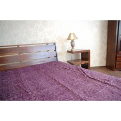 COUVRE-LIT ELEGANCE violet