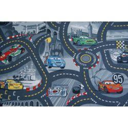 Wykładzina dywanowa DISNEY CARS 97 popiel