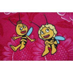Carpet Wall-to-wall MAYA THE BEE pink