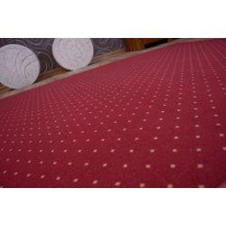 Aktua szőnyegpadló szőnyeg 116 bordó