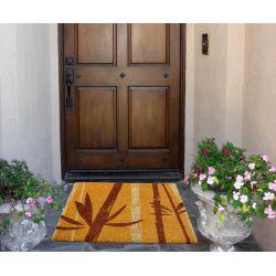 Придверний килим kokosowa 40x60см помаранчевий