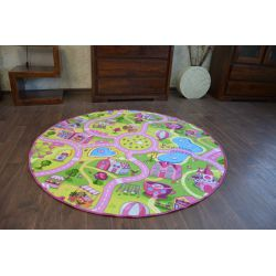 Carpet, round SWEET TOWN