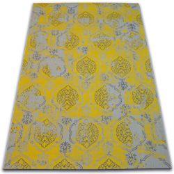 Tapis Vintage 22213/275 jaune classique
