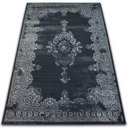 Vintage szőnyeg Rozetta 22206/996 fekete