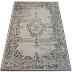 Tapis Vintage Rosette 22206/666 gris claire