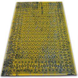 Carpet VINTAGE Flowers 22209/025 yellow