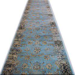 Jasmin futó szőnyeg 8628 kék fekete