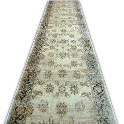 Jasmin futó szőnyeg 8628 elefántcsont fekete