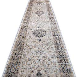 Jasmin futó szőnyeg 8676 elefántcsont fekete