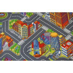 Detský koberec ULICA BIG CITY Veľkomesto