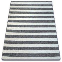 Matta SKETCH - F758 grå/vit - Striped