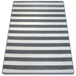 Tappeto SKETCH - F758 grigio/bianco - Striscie