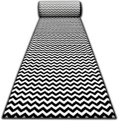 Passatoia SKETCH F561 nero/crema - Zigzag