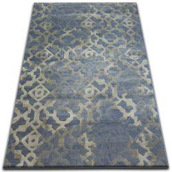 Teppich DROP JASMINE 454 Hell blau/Nebel