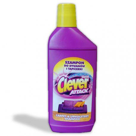 Šampon na koberce a čalounění CLEVER 500 ml