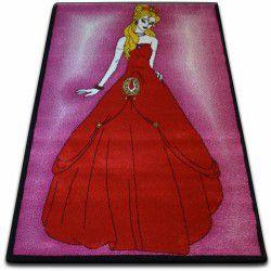 Dywan KIDS Princess różowy C425