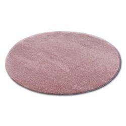 Shaggy szőnyeg kör micro rózsaszín