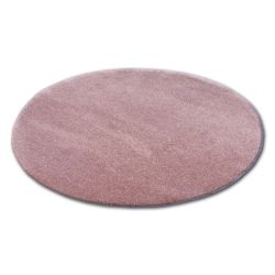 Tapis cercle SHAGGY MICRO rose