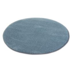Tapis cercle SHAGGY MICRO gris