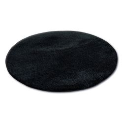 Ковер колесо SHAGGY MICRO черный