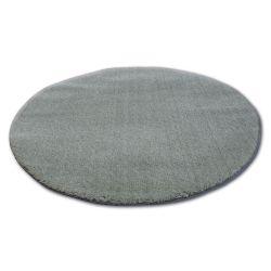Alfombra círculo SHAGGY MICRO verde