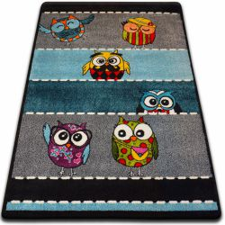 Dywan KIDS Owls szary C426