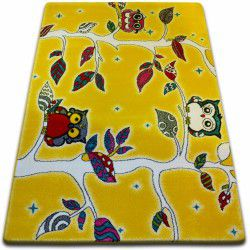 gyerekek szőnyeg Erdő sárga C427
