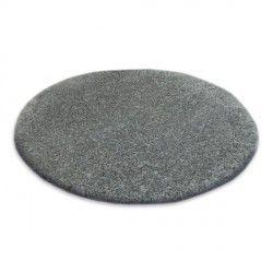 Alfombra círculo SHAGGY NARIN P901 gris