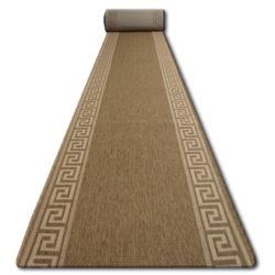 Sizal futó szőnyeg FLOORLUX minta 20014 coffe / mais
