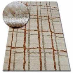 Shadow szőnyeg 9359 krém / rozsda