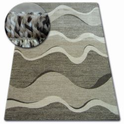 Tappeto SHADOW 8649 marrone / beige chiaro