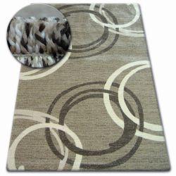 Teppich SHADOW 8645 dunkel beige / braun