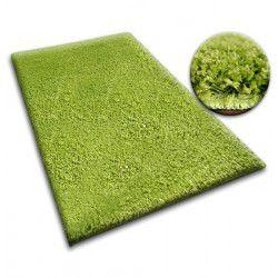 Matta - vägg till vägg SHAGGY 5cm grön