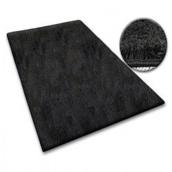 Moqueta SHAGGY 5 cm negro